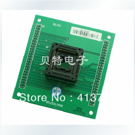 Import PLCC52 go S415T DIP52 adapters convert burn test xeltek programmers private cx1027 test writers convert adapter