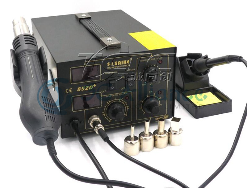 Электрический паяльник SMD Saike 852D + BGA /2 1 110 /22OV