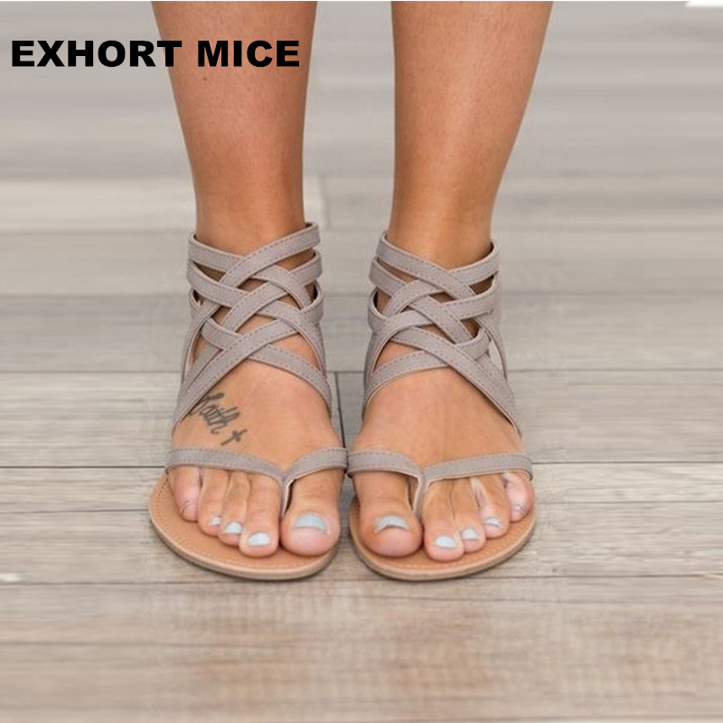 2018 newest hot Summer Women Sandals Sweet Style Flip Flops Elastic Band Casual Flats Shoes Woman Size 34-43 Woven #1615 size 34 43 new 2016 low heel flats women s sandals flip flops women sandals spring summer ladies shoes woman good y0502217f