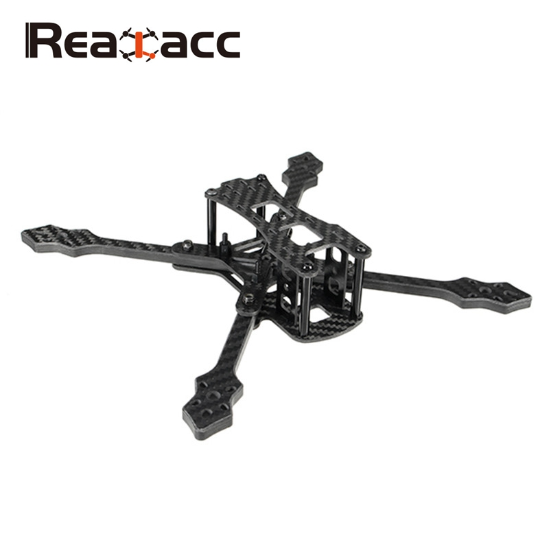 все цены на 2018 Newest Realacc Furious 220mm Carbon Fiber 6mm Arm FPV Racing Frame Kit 97g for RC Racer Drone FPV Quadcopter DIY Spare Part