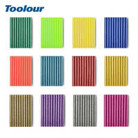 Toolour 120pcs/lot 7mm x 100mm Hot Melt Glue Sticks For Electric Heat Glue Gun Adhesive Sticks for DIY Industrial Art Craft Tool
