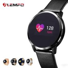 LEMFO Pedometer Smart Watch Men Women Heart Rate Blood Pressure Oxygen Monitor OLED Screen Bluetooth Sport Wearable Devices