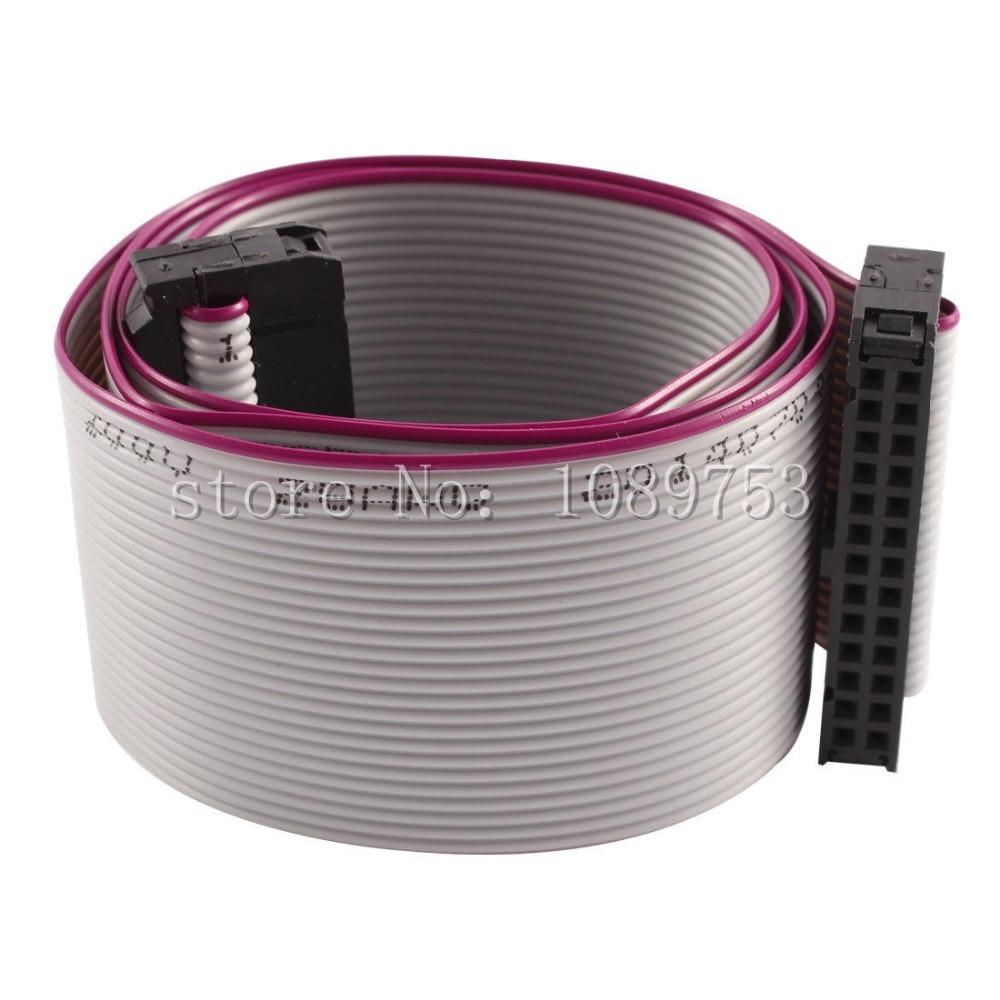 10pcs FC-26P 26Pin 2.54mm Pitch IDC Socket Extension Flat Ribbon Cable Wire 20cm10pcs FC-26P 26Pin 2.54mm Pitch IDC Socket Extension Flat Ribbon Cable Wire 20cm