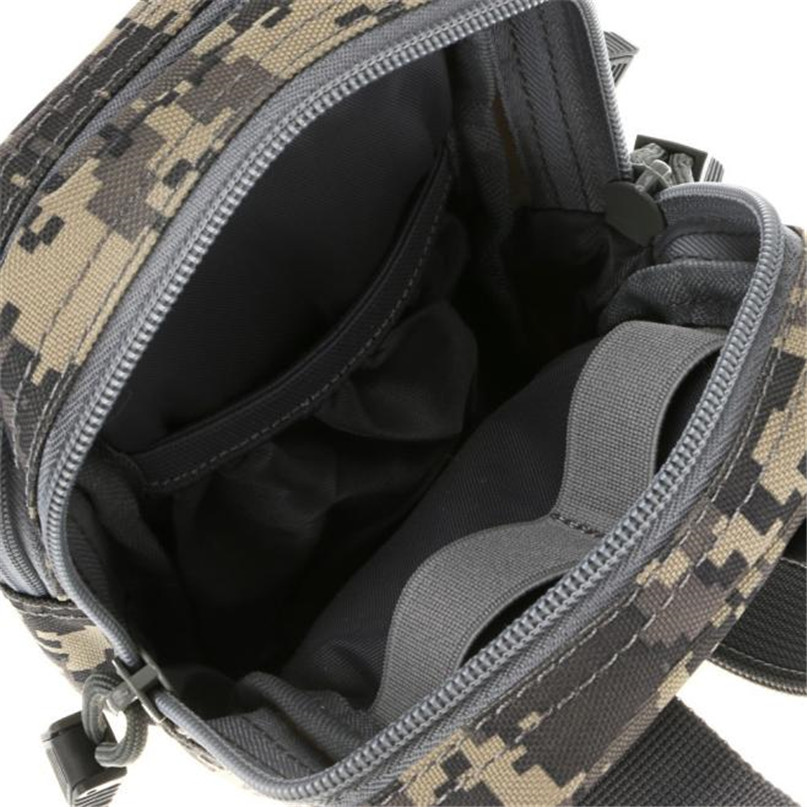 Outdoor sports pockets Waist Bags Camping hiking Tactical Molle Pouch Belt Bag Wallet Backpack Sport Running Travel Bags man #2a (6)