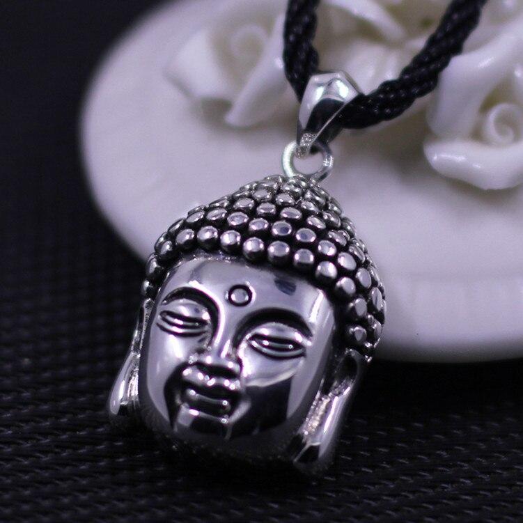 KJJEAXCMY Thai silver pendants wholesale S925 silver handmade lady selling Buddha shipping
