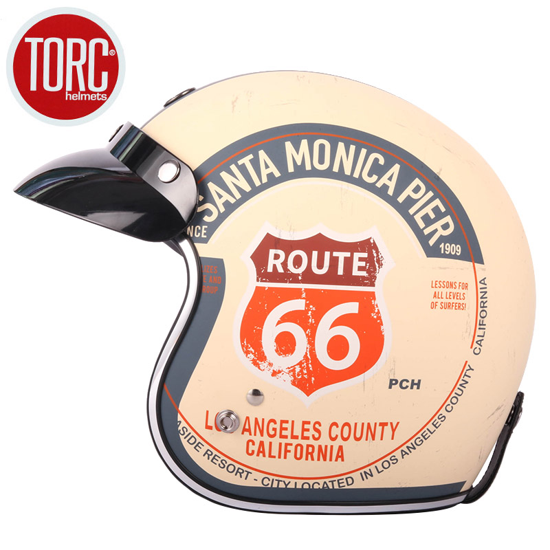 TORC T50 casque casco capacete visage ouvert vintage casque de moto peut ajouter bulle bouclier jet scooter motocross casques