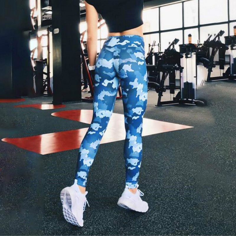 Hot Sale Women Leggings Workout Fitness Sexy Long Trousers Camouflage Leggings For Women Printed Sporting Pants With Ladies in Leggings from Women 39 s Clothing
