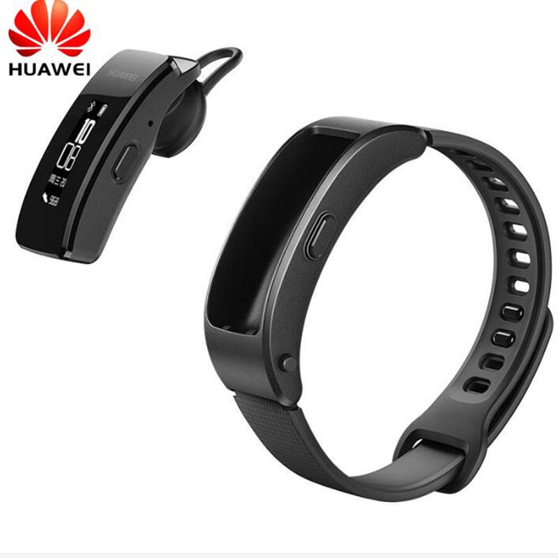 Huawei Talkband B3 Intelligente Orologio Ultimate Smartband con auricolare Bluetooth Fitness Wearable Sport Compatibile Smart Mobile Phone