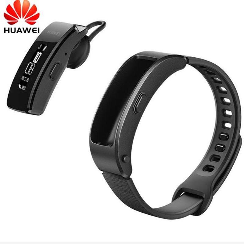 Huawei Talkband B3 Montre Smart Watch Ultime Smartband avec Bluetooth casque Remise En Forme Portable Sport Compatible Smart Mobile Téléphone