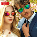 Поляризованные 3025 Пилот Дизайнер Мужчины Женщины Зеркальные Солнцезащитные Очки Женские Очки Óculos De Sol Ретро Покрытие Моды Европейский Стиль