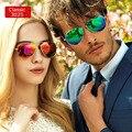Polarizada 3025 Pilot Designer Das Mulheres Dos Homens Revestimento de Óculos De Sol Espelhado Óculos Oculos de sol Feminino Retro Moda Estilo Europeu
