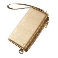 Новый для iPhoneXS MAX мобильного телефона оболочки кошелек мобильного телефона кобура мульти функция Защитная крышка сумка женская SL3