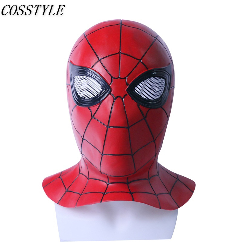 Movie Cos Spiderman Ps4 Game Cospaly Spider-man Mask Cosplay Costume Headwear Hat Mask Prop Halloween Free Shipping Free Size Costumes & Accessories