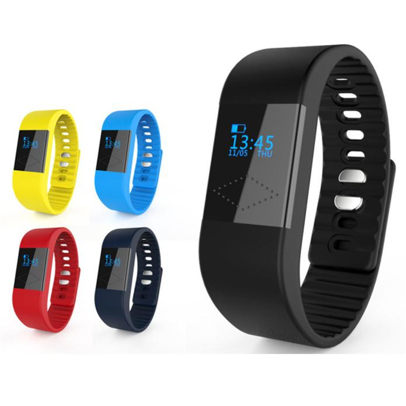 New Arrivals M1 Bluetooth Smart Bracelet Watch Sport Healthy Pedometer Sleep Monitor Free Shipping Wholesales NOA27