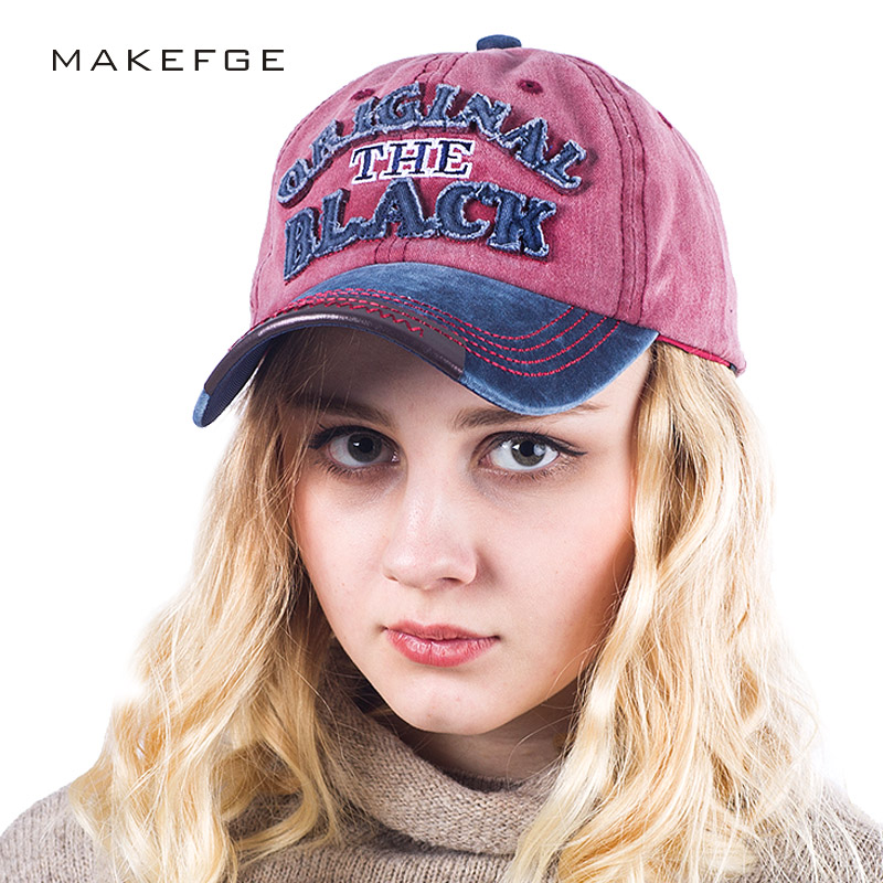 Fashion Baseball Cap Women Hats For Men Snapback Hat Cotton Bone Hip Hop Male Female Trucker Casquette Gorras Dad Black caps new fashion floral adjustable women cowboy denim baseball cap jean summer hat female adult girls hip hop caps snapback bone hats