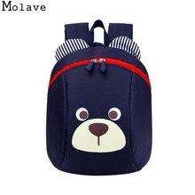 4492c6eb637a MOLAVE рюкзак анти-потерянный мешок ребенка милые животные переноски для  собак школьная сумка в возрасте
