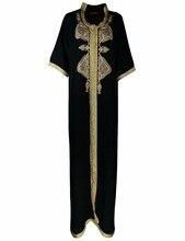 Frauen Maxi Lange hülse langes Kleid marokkanischen Kaftan Kaftan Jilbab Islamischen abaya Moslemische Türkische Arabischen arabisch Roben kleid HM-1449