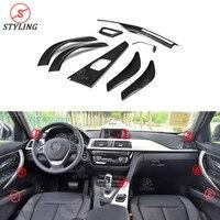 Car accessories For BMW F30 F36 F34 F32 Carbon Fiber Interior Cover trim LHD Car sticker 2014 2015 2016 2017 2018