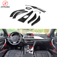 Car accessories For BMW F30 F36 F34 F32 Carbon Fiber Interior Cover trim LHD Car sticker 2014 2015 2016 2017 2018