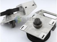 1.25mod cnc machine part pulley straight tooth/helical tooth belt gearboxes gear box gear rack synchronous wheel reducer box