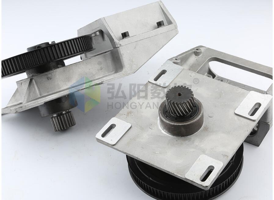 Type intégré dent droite/boîte de vitesse hélicoïdale de courroie de dent, crémaillère de boîte de vitesse et pièces de CNC synchrones de boîte de réducteur de roue 1.25