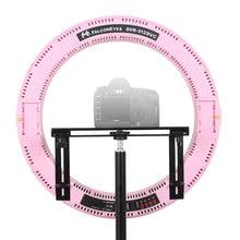 FALCON EYES Brand 512 Ring LED Panel 31W Lighting Video Film Continuous Light W/Camera Bracket/ filter FalconEyes DVR-512DVC