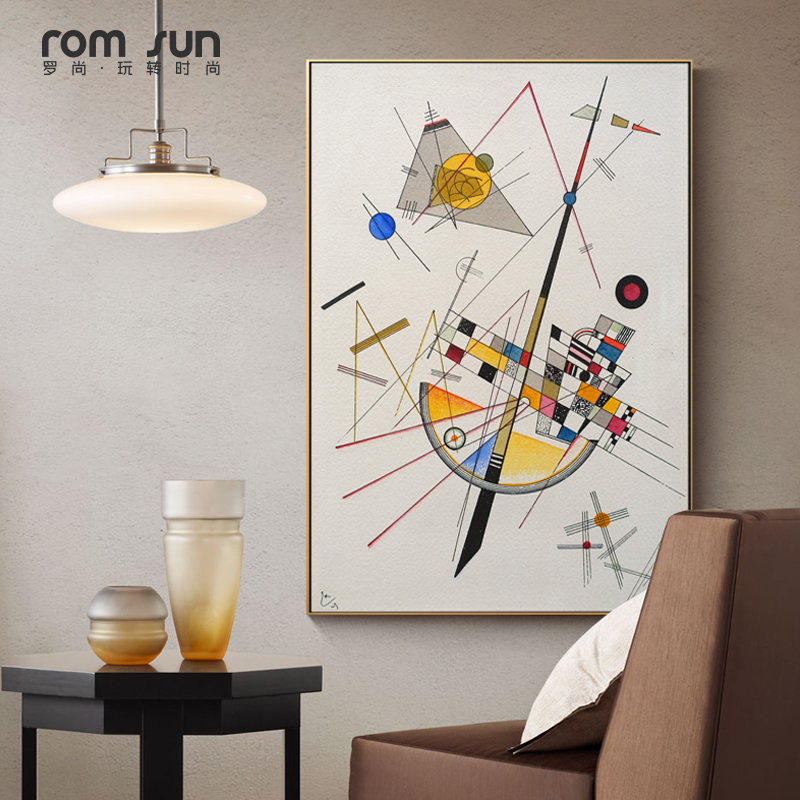 Famous Kandinsky Abstract Canvas Painting Geometry Art Wall Pictures For Living Room Home Decor Posters And Prints Nordic Style