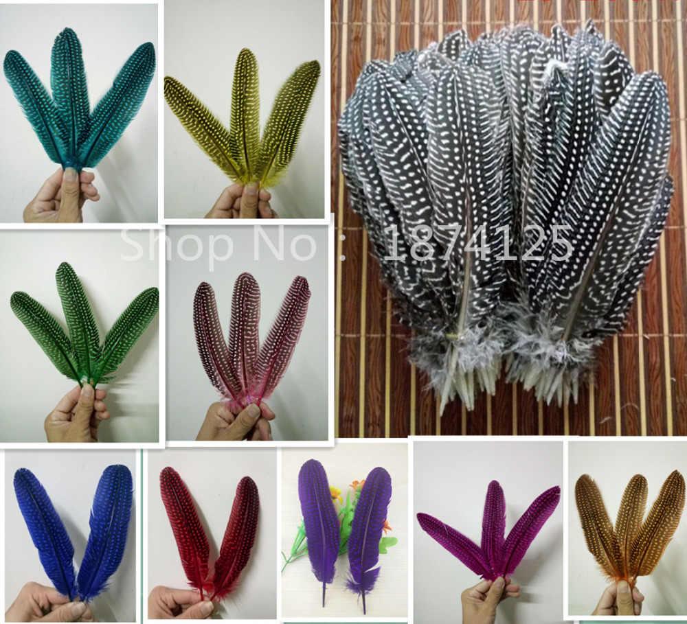 20 pezzi/lottp 15-20 cm di lunghezza, bella perla piume di pollo, artigianato FAI DA TE accessori decorativi
