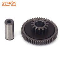 Starter Starting Dual Gears + Variable Gear Shaft For Xmotos KAYO NC250 NC250CC NC 250CC XZ250R T4 T6 J5 Dirt Bike Motorcycle
