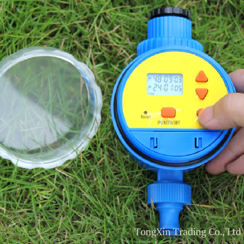 new water timer Irrigation Timer Intelligent Control Sprinkler Auto-watering System LCD Garden Watering