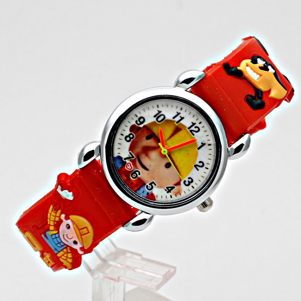 Fashion 3D Child Watch Silicon Cartoon Børn Sport Watch Boy Quartz - Børneure - Foto 2