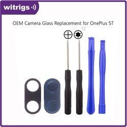 На Алиэкспресс купить стекло для смартфона witrigs for oneplus 5t 5 camera glass lens replacement repair part with adhesive sticker