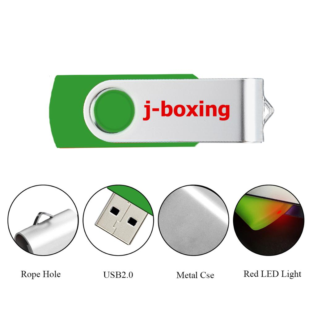 Image 3 - J boxing USB Storage Flash Drives 64MB 128MB Small Capacity Pendrive 256MB 512MB Metal Thumb Drives USB 2.0 Memory Green 10PCS-in USB Flash Drives from Computer & Office