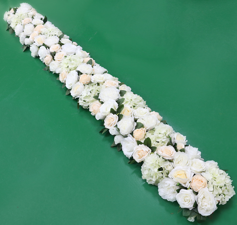 JAROWN Artificial 2M Rose Flower Row Wedding DIY Arched Door Decor Flores Silk Peony Road Cited Fake Flowers Home Party Decoration Maison (14)