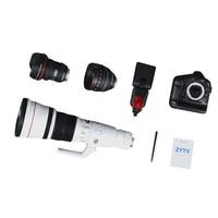 High Quality 1 6 Scale DSLR Digital Camera Lens Set For 12 Action Figure Accessories Unisex