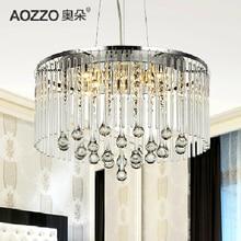 Светодиодные светильник спальня лампа современный simple кристалл потолок люстра фары