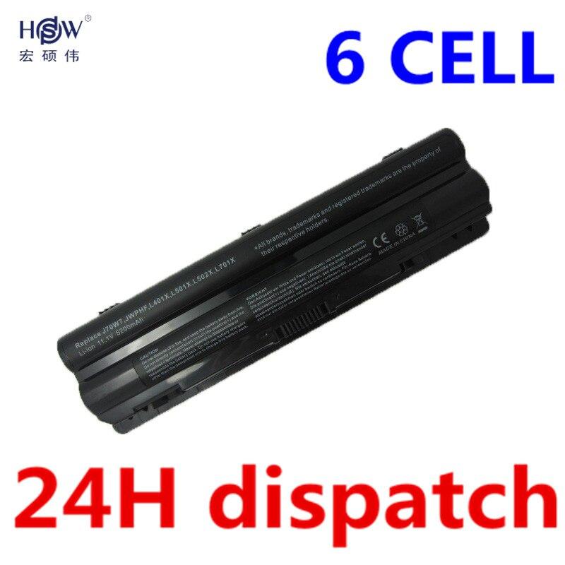 5200 mAh laptop-Batterie für Dell XPS 14 15 17 L401x L501x L502x...
