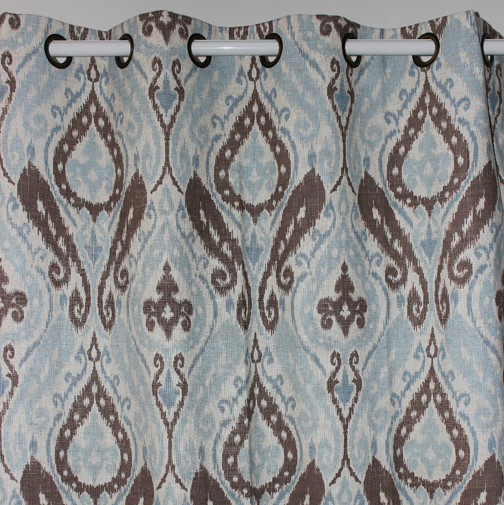 Printed Curtains Living Room Online Get Cheap Paisley Print Curtains Aliexpresscom Alibaba