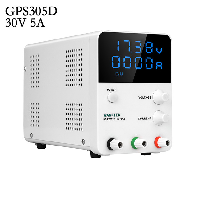 Wanptek adjustable laboratory dc power supply Variable 30V 60A 5A/10A Regulated the power modul Digital switching power supply
