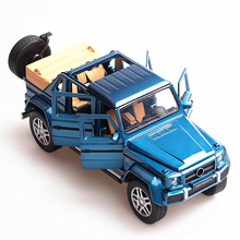 1:32 Scale Maybach G650 Landaulet Car Model Simulation Diecast Vehicle Toys Metal Off-road Car Alloy SUV Auto Toy For Kids Gifts стоимость