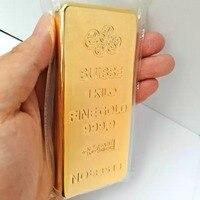 New Suisse 1kg gold plated bar offer drop ship