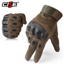 Touch Screen Motorcycle Full Finger Gloves Motocross Protective Gear Motorbike Racing Rubber Hard Knuckle Outdoor for Men Women
