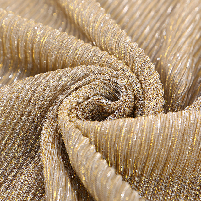 NEW shimmer pleated hijab scarf  3