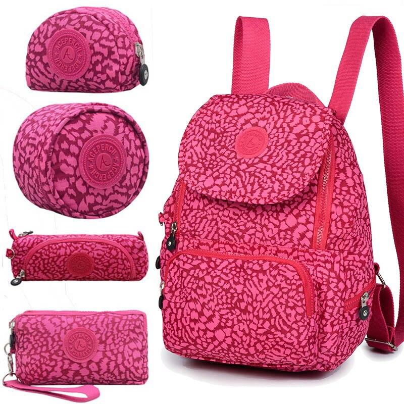 ACEPERCH femmes Original Escolar sac à dos fille étanche en Nylon sac à dos dame sacs à dos sac de voyage décontracté Mochila Infantil Menina - 2