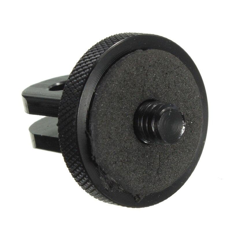 Mini adaptador de montaje de tornillo de trípode negro con 1/4 - Cámara y foto - foto 3