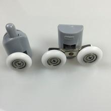 25mm Diameter Double-Wheeled Replacement Shower Door Roller Wheel