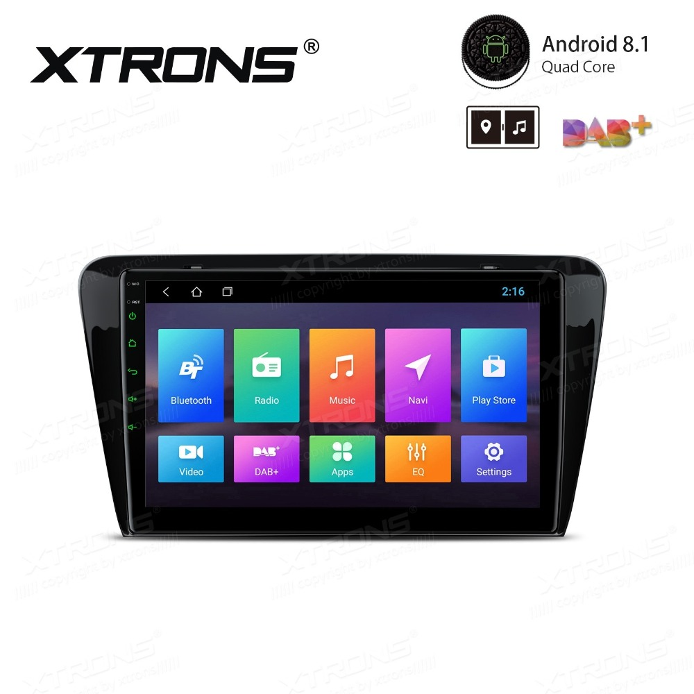 """Cheap 10.1"""" Android 8.1 OS Car Multimedia Navigation GPS Radio for Skoda Octavia 2014 2015 2016 with Split Screen Function Support 5"""