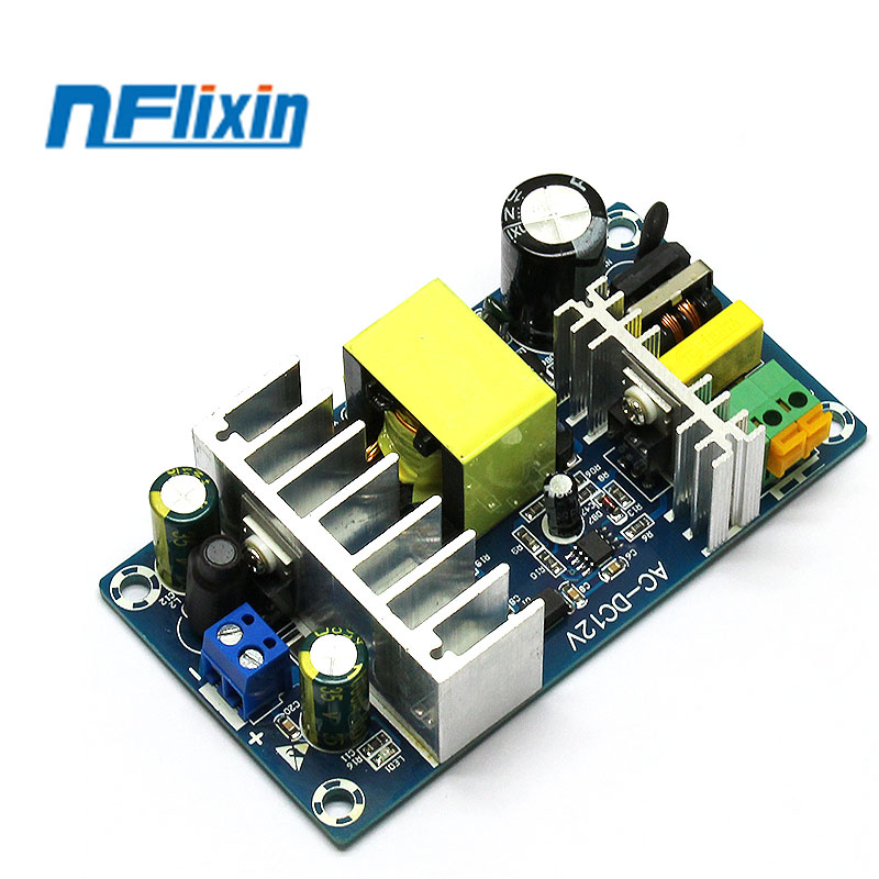 For Europe 12V100W6A-8A stable high <font><b>power</b></font> switching <font><b>power</b></font> <font><b>supply</b></font> <font><b>board</b></font> AC 110V 220V to DC <font><b>12V</b></font> <font><b>power</b></font> transformer buck regulator image