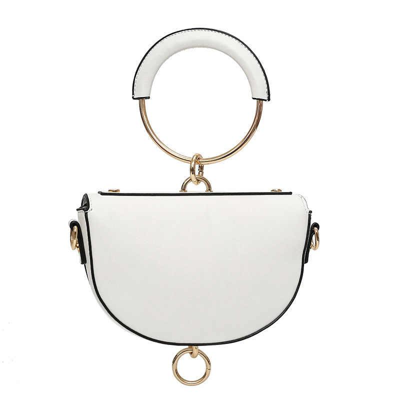 2018 Горячая Новая брендовая модная маленькая сумка из искусственной кожи на одно плечо, сумка через плечо, мини винтажная женская сумка, сумки-мессенджеры NB239