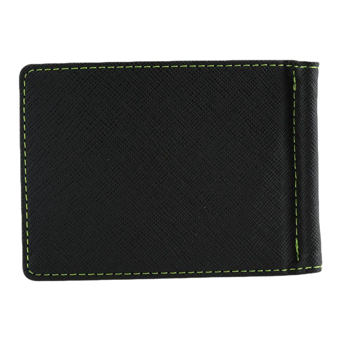 Men Slim Bifold Front Pocket Wallet with Money Clip 2